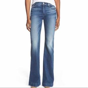 7 For All ManKind Dojo Wide-leg Jean